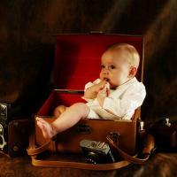 © photo artistique de bébé à Toulon